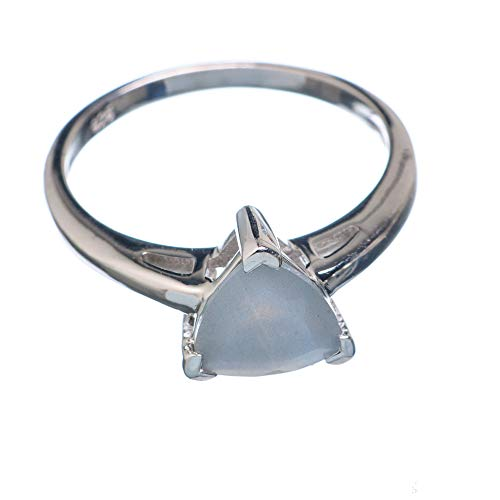 Labradorite Ring Size 8.5 (925 Sterling Silver) - Handmade Boho Vintage Jewelry RING923786 from Ana Silver