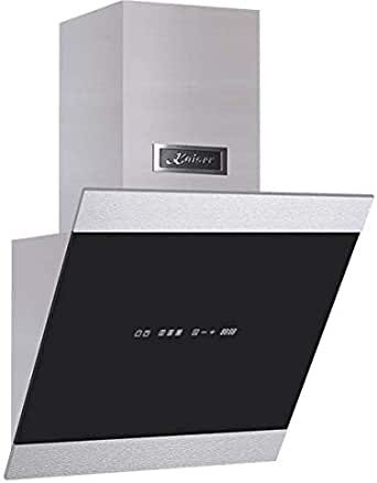 Kaiser AT 5435 - Campana extractora de pared (50 cm, sin cabezal, cristal de acero inoxidable, 3 niveles, 1250 m3/h, con temporizador, campana extractora, campana extractora, campana extractora, ganadora): Amazon.es: Grandes electrodomésticos