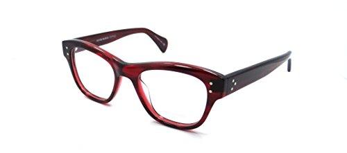 Oliver Peoples Rx Eyeglasses Frames Parsons 5205 1053 48x18 Red Havana - People Olivers Eyeglasses