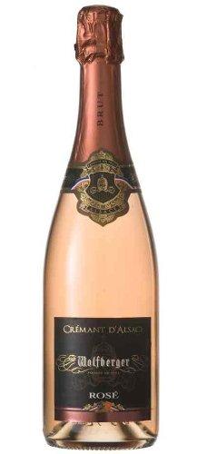 Wolfberger Crémant Rosé d'Alsace A.O.P. Brut Pinot Noir Trocken (1 x 0.75 l)
