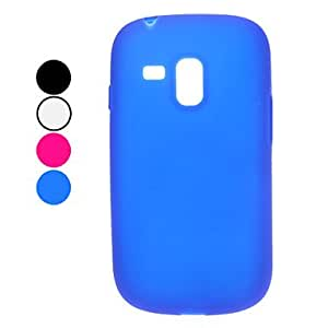 Solid Color Soft Case for Samsung Galaxy S3 Mini I8190 (Assorted Colors) --- COLOR:Blue