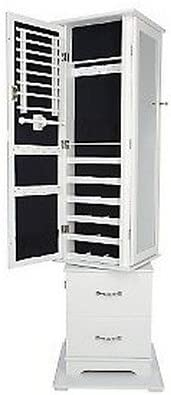 Amazon Com Gold Silver Safekeeper Trifold Jewelry Cabinet By