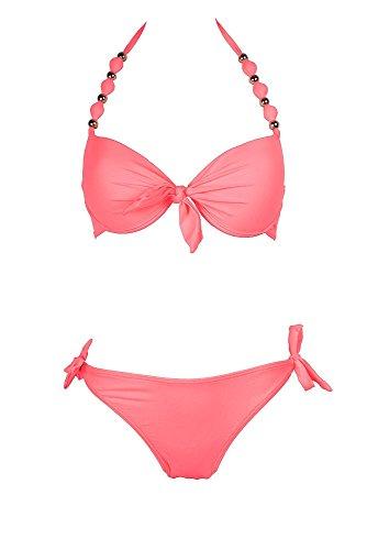 Raé Swimwear - Conjunto - Traje de baño 2 piezas - para mujer Coral