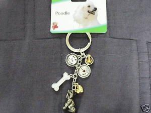 LittleGifts Poodle Keychain