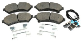 ACDelco 171-0934 GM Original Equipment Front Disc Brake Pad Kit with Brake Pads Pigtail and Clips