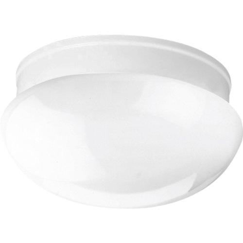 Progress Lighting P3410-30 2-Light Close-To-Ceiling Fixture, White ()