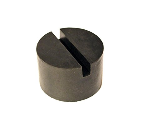 Auto Accessories Dealer Single Full Size Large Universal Slotted Rubber Jack Pad