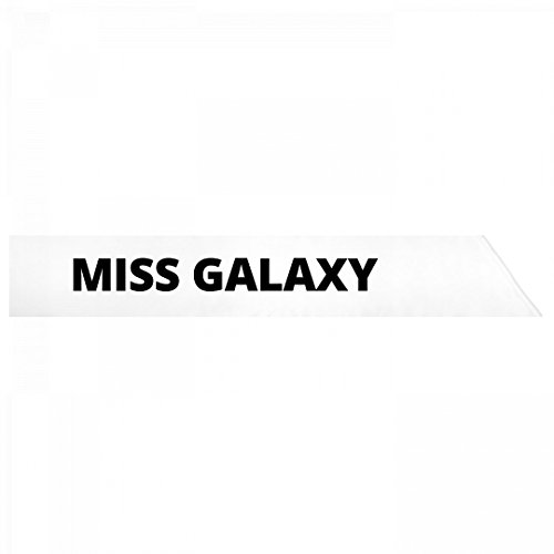Miss Universe Pageant Costumes (Miss Galaxy: Adult Satin Party Sash)