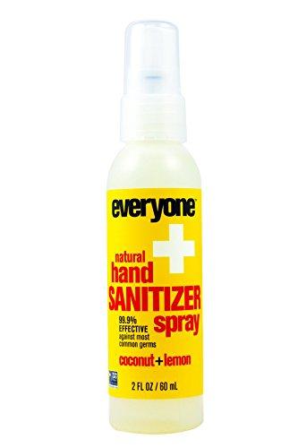 - EO Products Hand Sanitizer Spray for Everyone,Coconut+Lemon, 2 Fluid Ounce