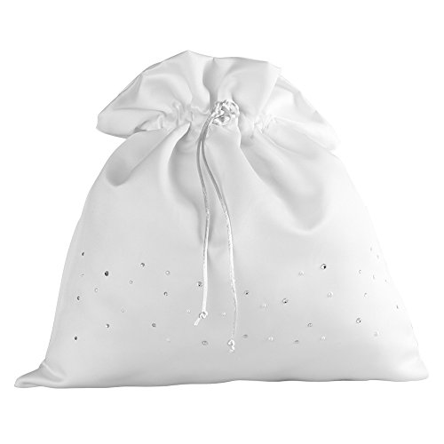 Collection Wedding Money Bag - Ivy Lane Design Celebrity Collection Money Bag, White