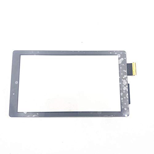 Replacement LCD Display Touch Screen Touchpad Digitizer Panel Front Outer Lens for Nintendo Switch Lite (Gray)