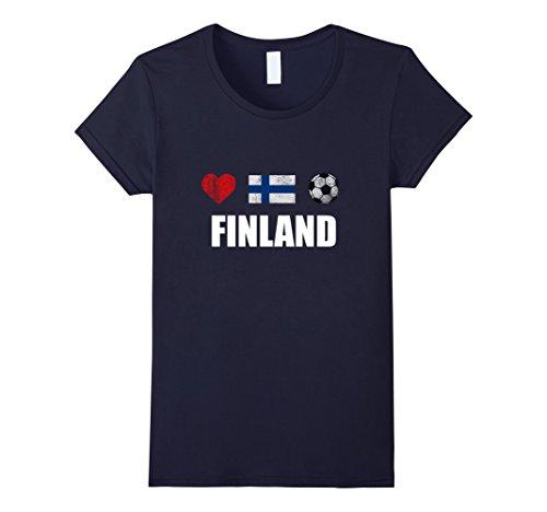 Women's Finland Football Shirt - Finland Soccer Jersey Large