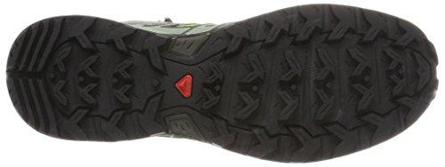 Salomon Ultra 3 Mid GTX, Scarpe da Arrampicata Alta Uomo Multicolore (Beluga/Quiet Shad/Sulphur Spring)