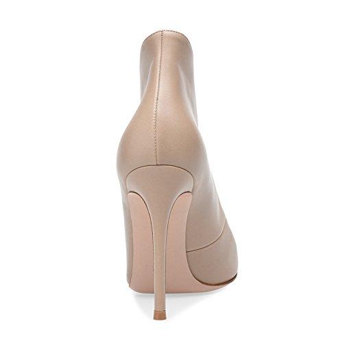 Grande KJJDE Fashion Apricot Soirée De Talon 10 45 Sexy Bouche Haut Femme De Mariage Sandales TLJ Fête Plateforme Club Transgenre Taille Poisson vq4rSvwO