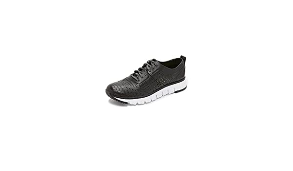 Cole Haan Mens Zerogrand Laser Perforated Sneaker Black Size