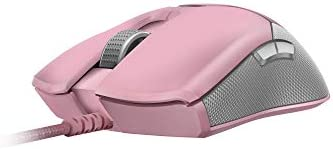 Razer Viper Ultralight Ambidextrous Wired Gaming Mouse: second Gen Razer Optical Mouse Switches - 16K DPI Optical Sensor - Chroma RGB Lighting - 8 Programmable Buttons - Drag-Free Cord - Quartz Pink