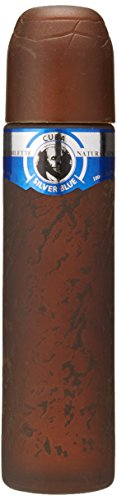Cuba Silver Blue Eau de Toilette Spray for Men, 3.3 Ounce