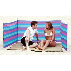 Sport Design Beach Wind Screen Including Umbrella Carry Bag