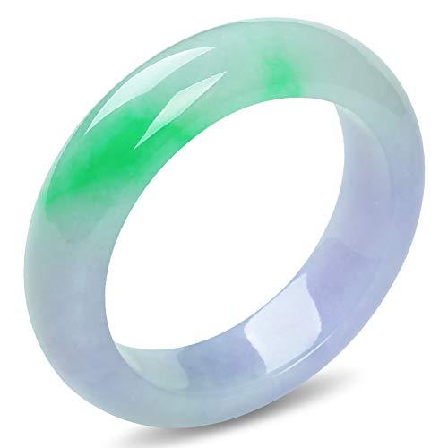 YANGLAN Jade Bracelet, Natural Ice Jade Jewelry, Handmade, High-end Peace Bracelet, Gift Inner Diameter - Round Chalcedony Gemstones