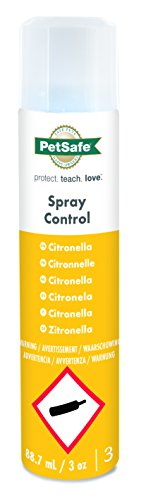 PetSafe Spray Control Citronella Refill Can, Anti Bark, Training for Dogs