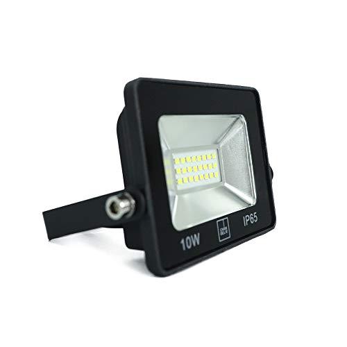 Refletor Led Holofote 10w Branco Frio Resistente Água 220V