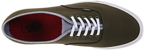 Vans U Authentic - Zapatillas unisex Verde (Rifle Green/Captain's Blue)