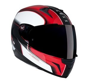 Nexx xr1.r movimiento Full Face casco de moto en rojo