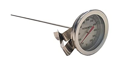 """12"""" Clip on Brewing/Distilling Thermometer"""