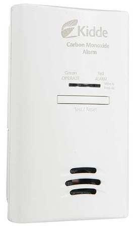 Kidde KN-COB-DP2 AC Plug Carbon Monoxide Alarm with Battery Back-Up - Kidde Plug