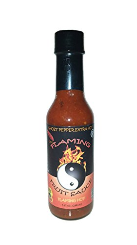 Jessi's Flaming Fruit Sauce - Ghost Pepper - Extra Hot - 5oz (Best Steak In Tampa Fl)