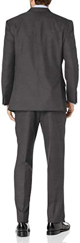 IZOD Mens Izzy Slim Fit Suit