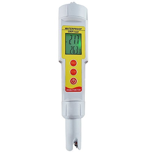 Gain Express 2-in-1 Pen Type ORP & Temperature (°C/°F) Meter Thermometer Water Quality Tester IP65 Waterproof Level