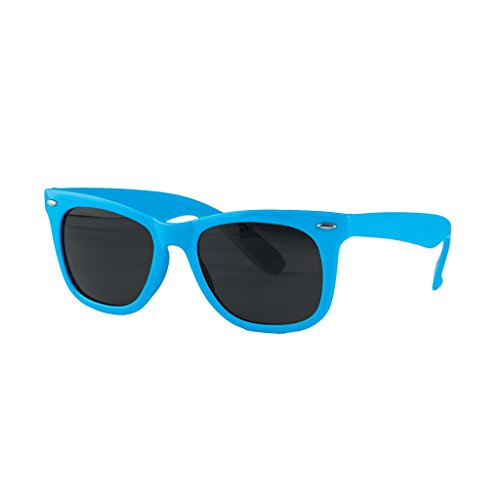 Bleu Ciel Foncé soleil de unisexe Adulte Kimood Wayfarer Lunettes vwq441