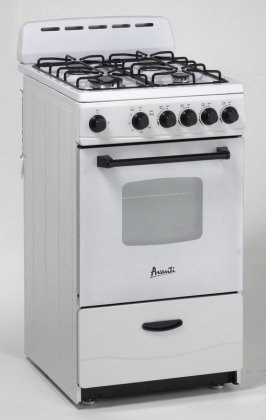 Avanti Model GR2011CW – 20″ Gas Range