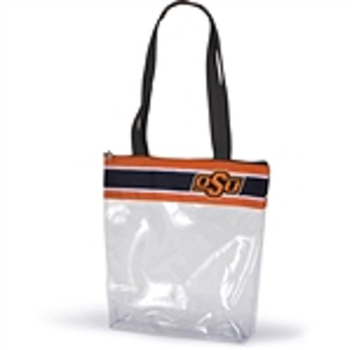 Oklahoma State Tote Bag - Desden Oklahoma State Cowboys Clear Gameday Stadium Tote Bag