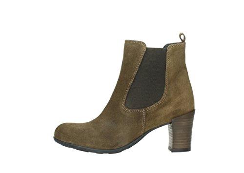 Wolky Boots 07748 kelly oleato medio 40310 marrone Camoscio Comfort 4v4qrxz