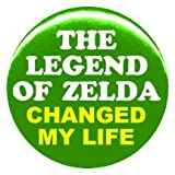 "1"" Nintendo ""Legend of Zelda Changed My Life"" Button/Pin"