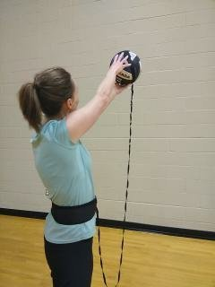 Solo Volleyball Training Aid Spruce Athletic Serve Buddy