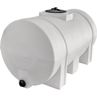 RomoTech Horizontal with Legs Polyethylene Reservoir, 65 gallon