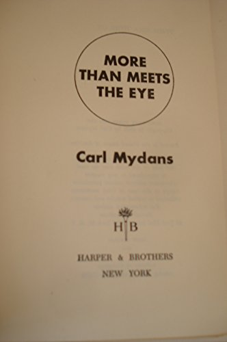 More Than Meets The Eye by Carl Mydans