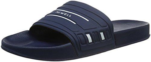 Para hombre sandalias de baño McWELL Azul - azul marino, blanco
