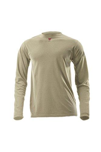 DRIFIRE High Performance CAT1 Flame Resistant Industrial Lightweight 5.4 oz. Long Sleeve Shirt Baselayers