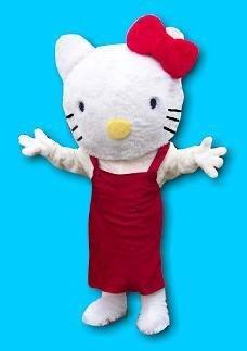 Hello Kitty Mascot Costume (Mascot Costume Rentals)
