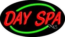 Day Spa Flashing Neon Sign - 17'' x 30'' (Day Spa Neon Sign)