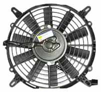 TYC 610990 Volvo 40 Series Replacement Condenser Cooling Fan Assembly
