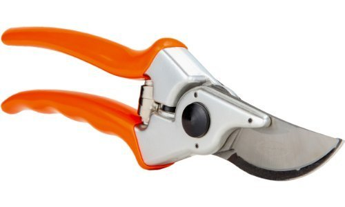 Pruning Shears - The Best Professional Bypass Pruner & Garden Hand Tool Cutters - Aluminum Secateurs & Steel Gardening Scissors for Your Plants & Bushes - Clippers Include Free Gardening Gloves