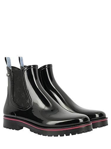 Trussardi Boots Women's 79a002859y099999k299 Ankle Black Polyurethane W0wp8qaOPw