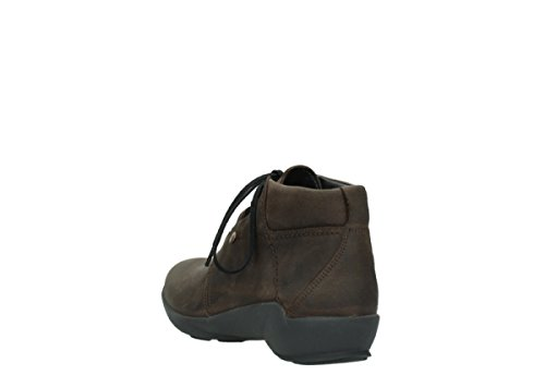 Wolky Boots Jaca Marron Womens Leather rtvTqwzr