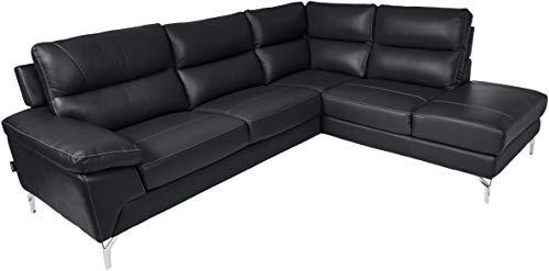 Homelegance 9969 Genuine Leather Upholstered Sectional Sofa, 98