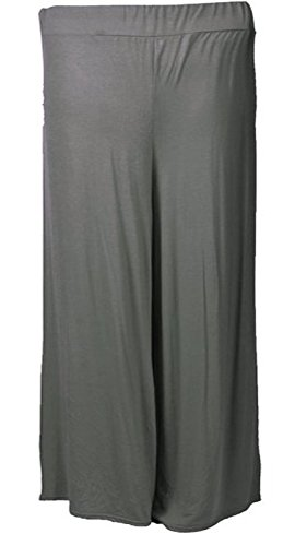Fashion charming - Pantalón - para mujer gris oscuro